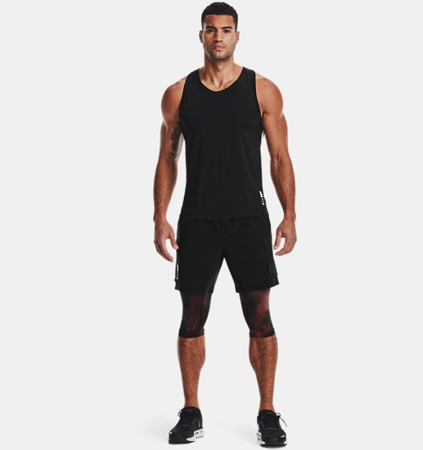 Mens UA Run Anywhere 2-in-1 Shorts