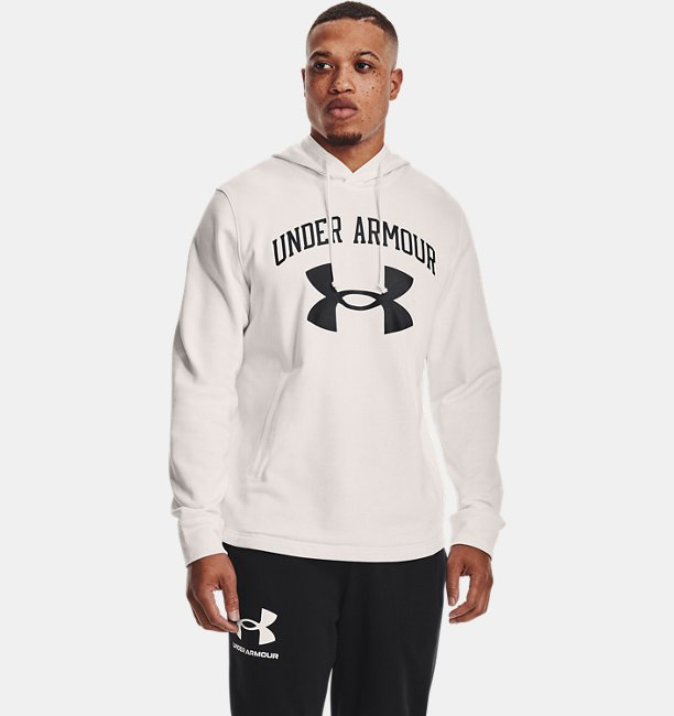 Mens UA Rival Terry Big Logo Hoodie