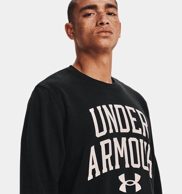Mens UA Rival Terry Crew