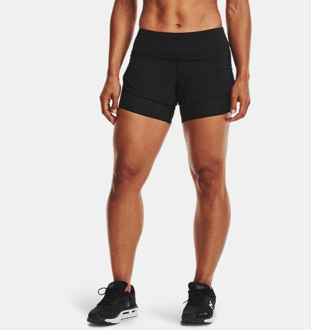 Shorts UA RUSH™ Run 2-in-1 para Mujer