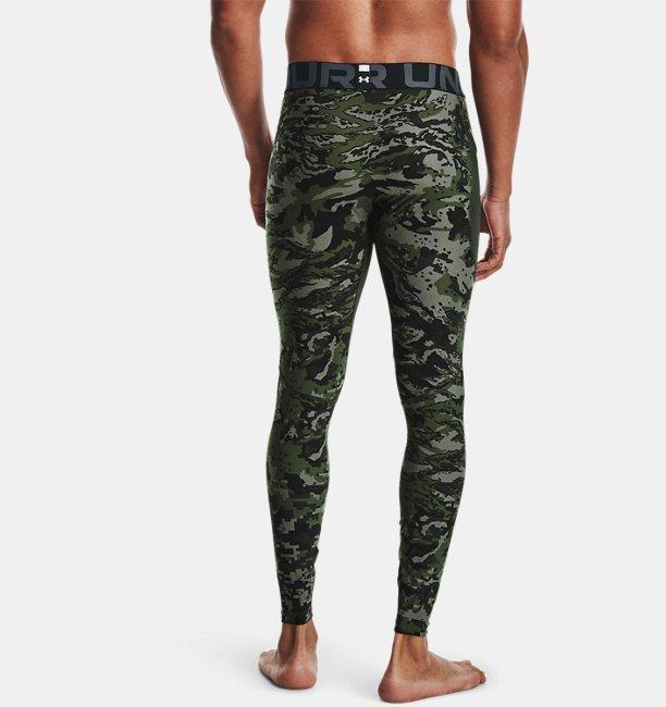 Mens HeatGear® Armour Camo Leggings