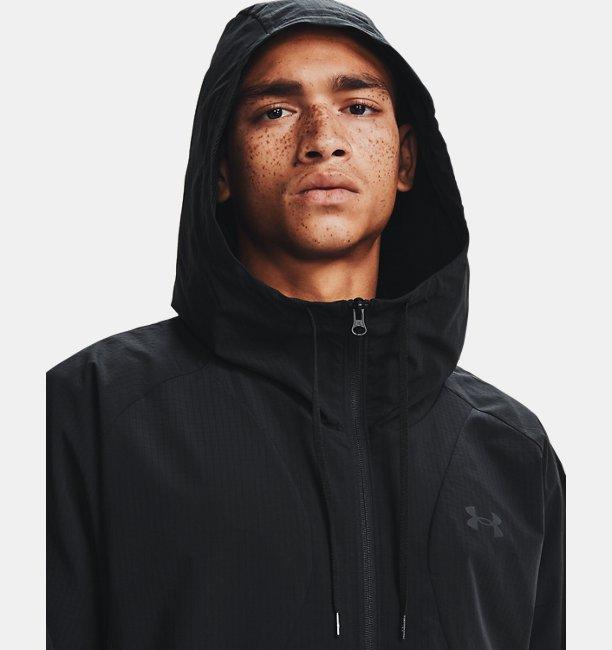 Mens UA Woven Windbreaker Jacket