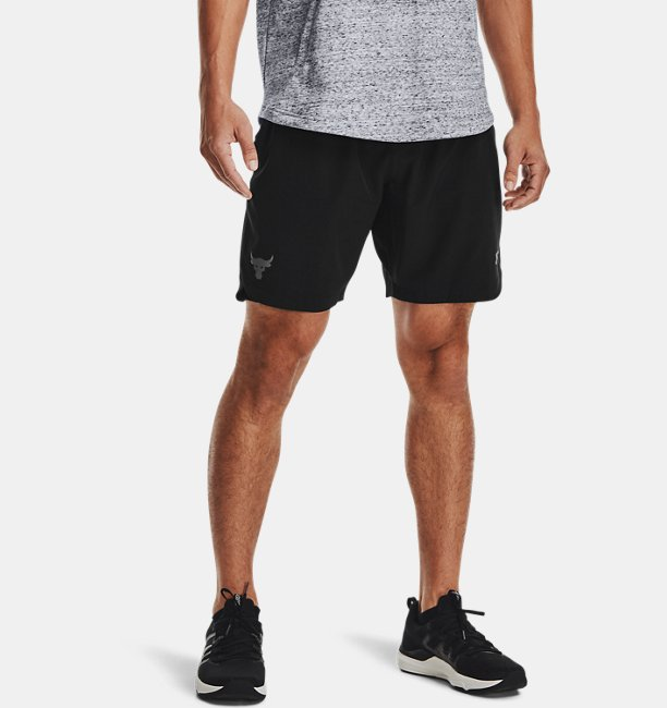 Mens Project Rock Woven Shorts