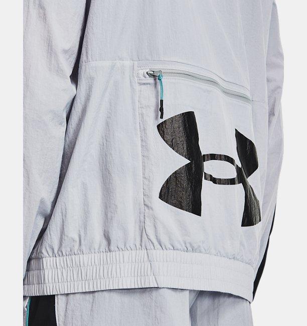 Mens UA Woven Track Jacket