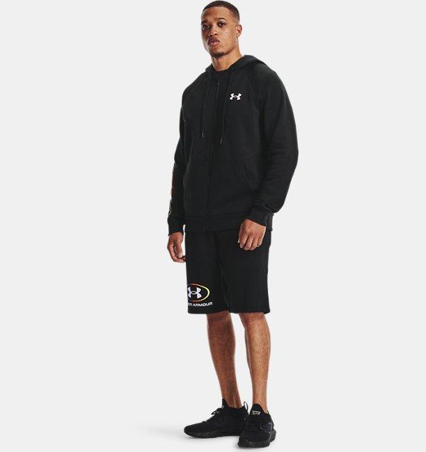 Mens UA Rival Fleece Lockertag Shorts