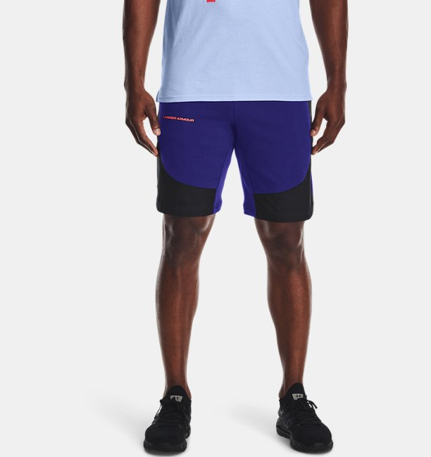 Mens UA Rival Terry AMP Shorts