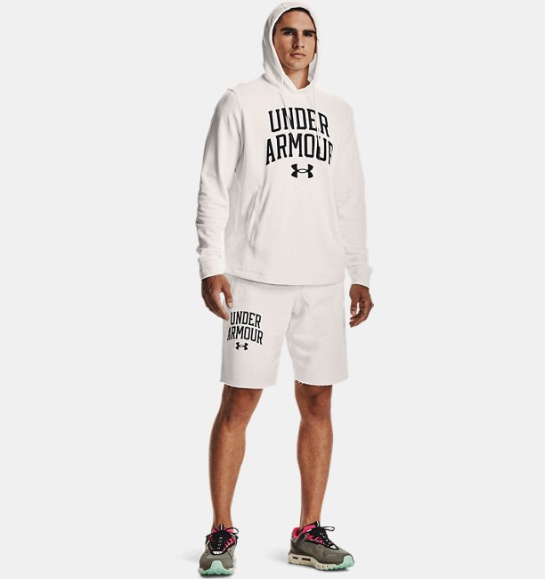 Mens UA Rival Terry Collegiate Shorts