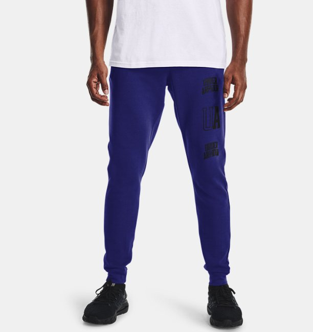 Mens UA Rival Terry Collegiate Joggers