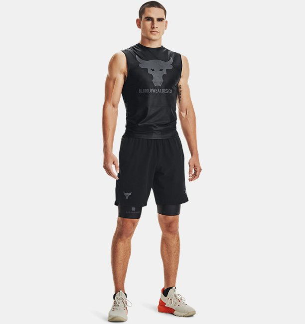 Shorts Project Rock Iso-Chill para Hombre