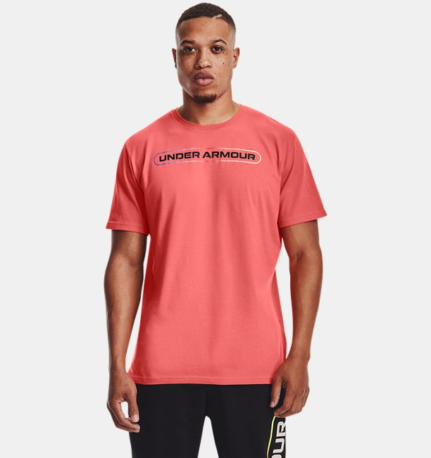 Mens UA Lockertag Short Sleeve