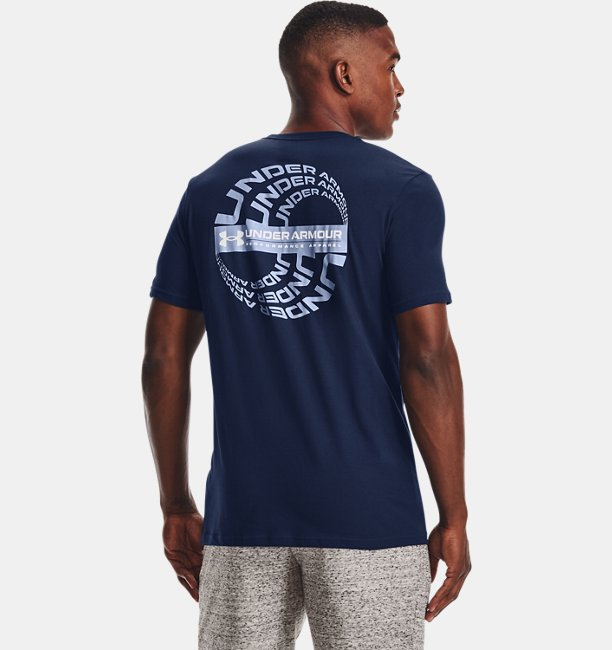 Mens UA Reflection Wave Short Sleeve