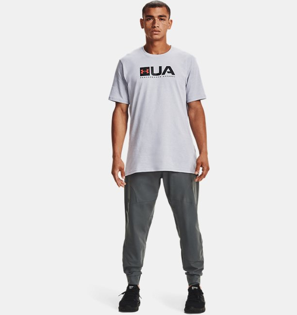Mens UA Multi Logo Short Sleeve