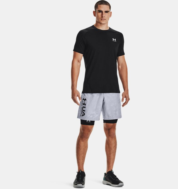 Mens HeatGear® Armour Fitted Short Sleeve