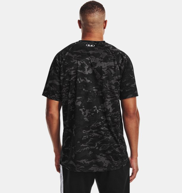 Mens UA Tech™ ABC Camo Short Sleeve
