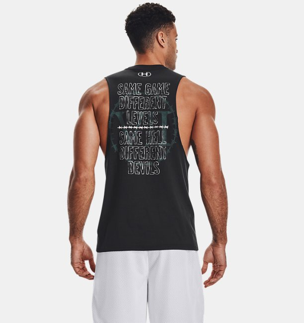 Mens Project Rock Same Game Tank
