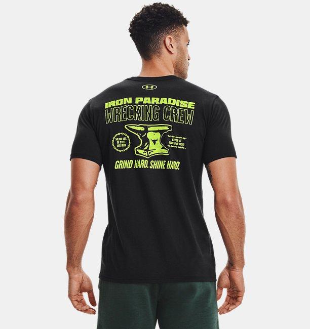 UA PROJECT ROCK レキング クルー ショートスリーブ(トレーニング/MEN)