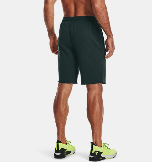 Mens Project Rock Terry Iron Shorts