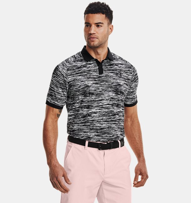 Mens UA Iso-Chill ABE Twist Polo