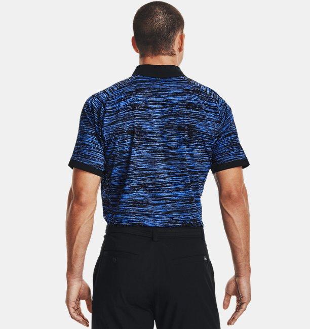 Mens UA Iso-Chill ABE Twist Polo
