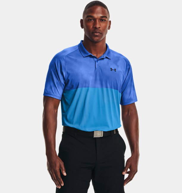 Mens UA Iso-Chill Afterburn Polo