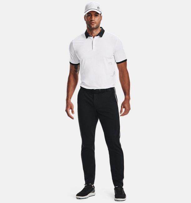 Mens Curry Vanish Polo