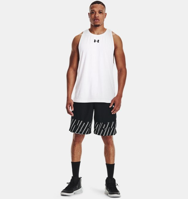Mens UA Baseline Speed 10 Shorts
