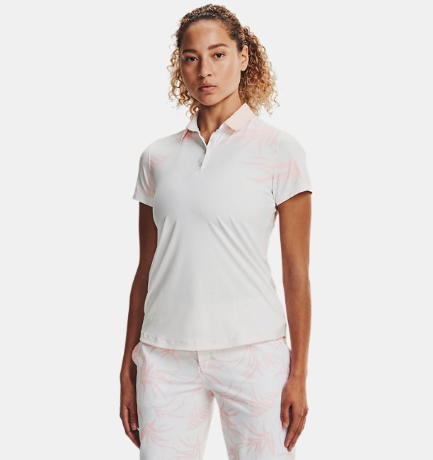 Womens UA Iso-Chill Short Sleeve Polo