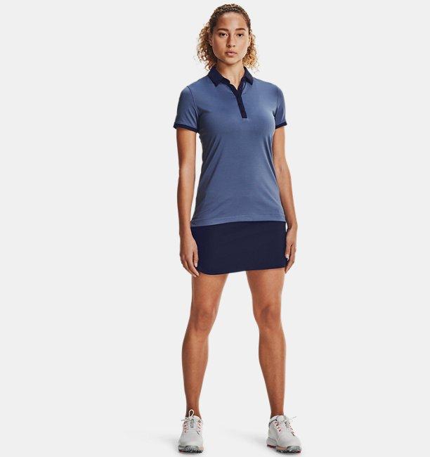 Polo UA Zinger à manches courtes pour femme