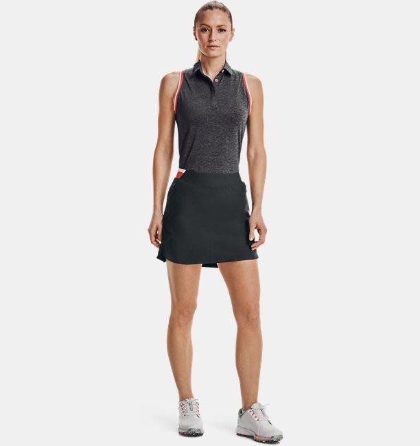 Womens UA Zinger Sleeveless Tipped Polo