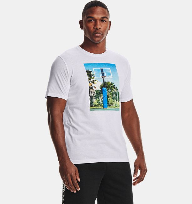 Mens UA Hoops Summer Daze T-Shirt