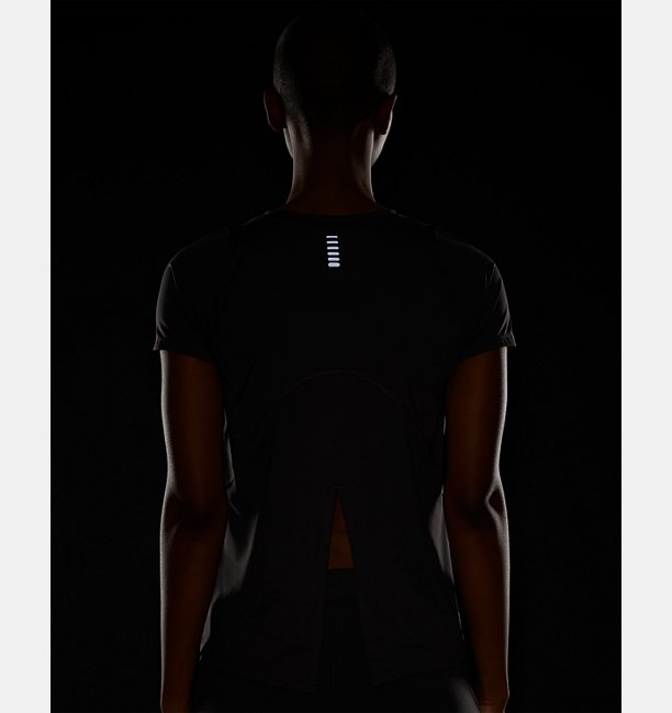 Womens UA Iso-Chill Run Short Sleeve