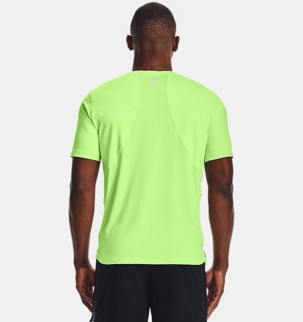 Mens UA Iso-Chill Run Short Sleeve