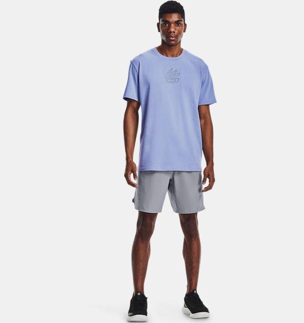 남성 커리 자수 UNDRTD 티셔츠