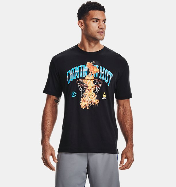 Mens Curry Comin In Hot T-Shirt