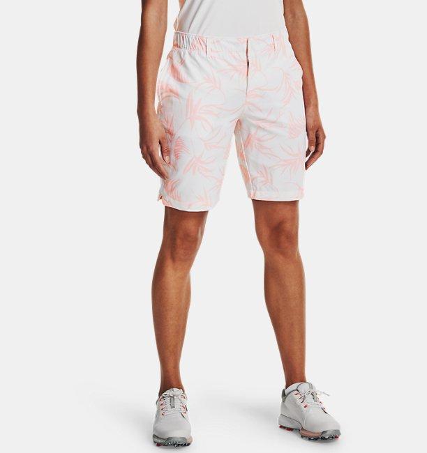 Womens UA Links Printed Shorts