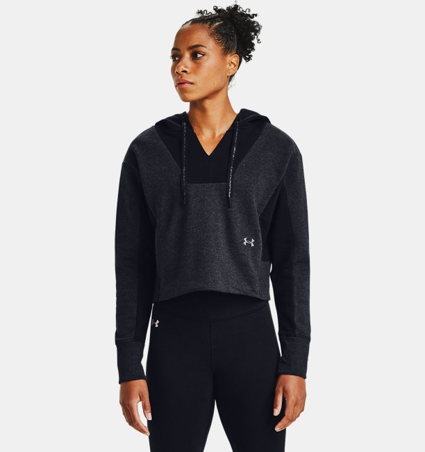Womens UA Rival Fleece Embroidered Hoodie