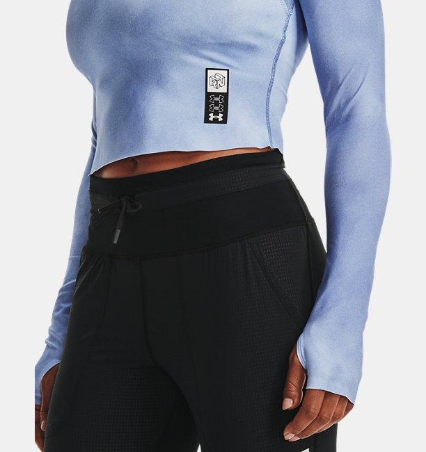Womens UA Run Anywhere Cropped Long Sleeve