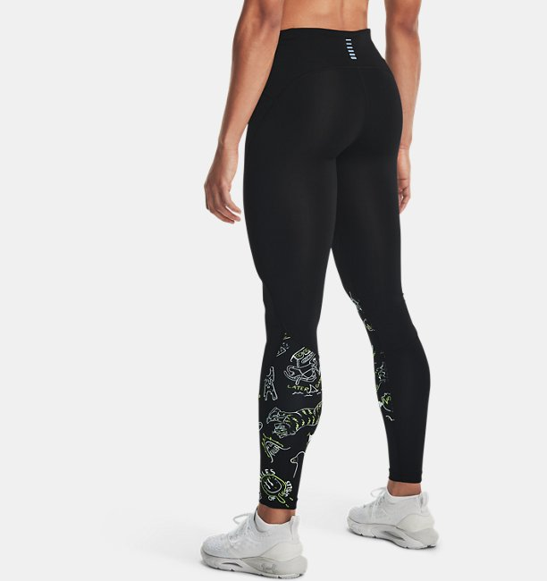 Womens UA Run Your Face Off Tights