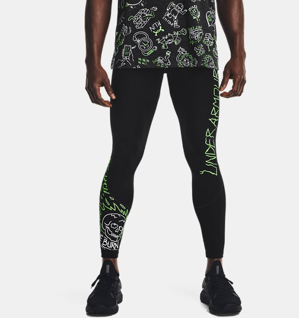 Mens UA Run Your Face Off Tights