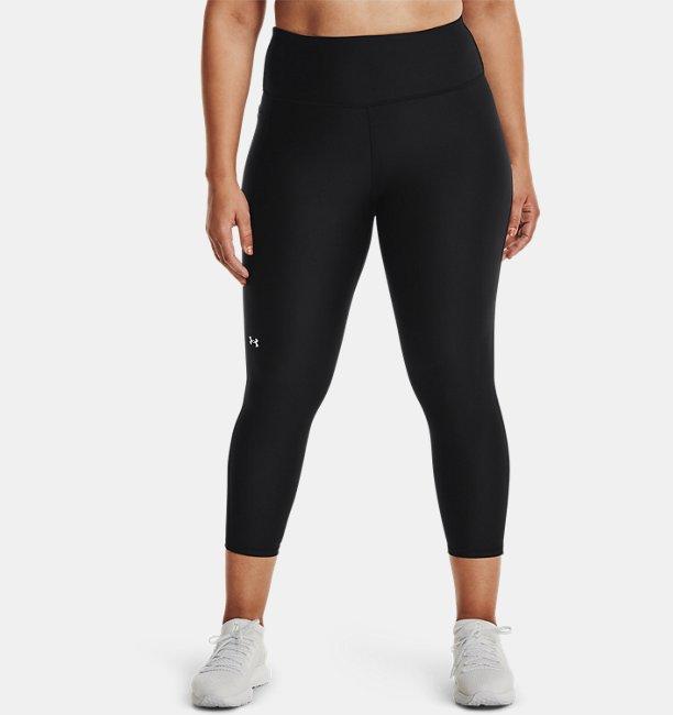 Womens HeatGear® Armour No-Slip Waistband Ankle Leggings