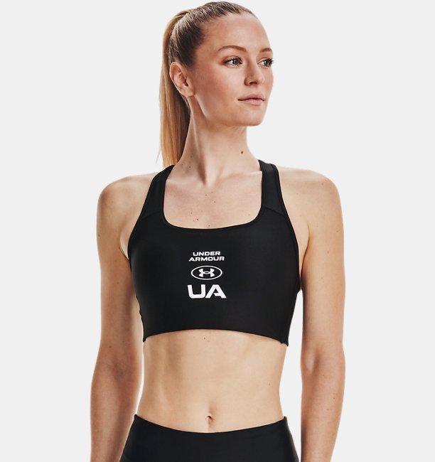 여성 Armour® 미드 크로스백 그래픽 스포츠 브라