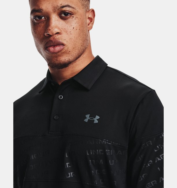 Polo UA Playoff 2.0 Blocked pour homme
