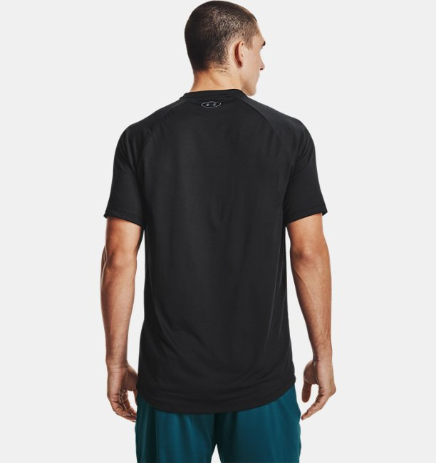Mens UA Tech™ 2.0 Vertical Wordmark Short Sleeve