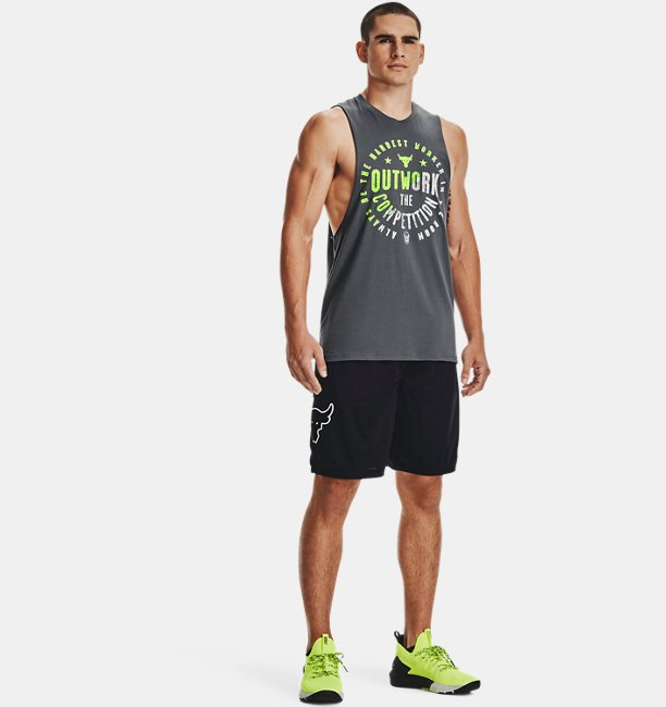 Mens Project Rock Outwork Tank