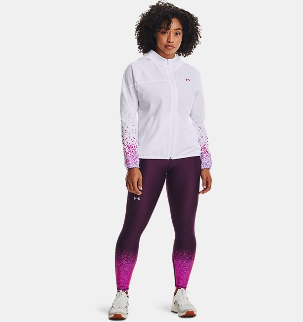 Womens HeatGear® Armour No-Slip Waistband Gradient Ankle Leggings