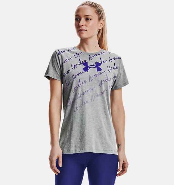 Womens UA Repeat Graphic Short Sleeve