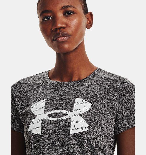 Womens UA Tech™ Twist Graphic Short Sleeve