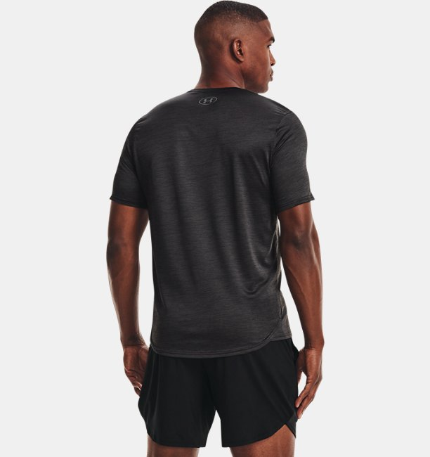 Mens UA Training Vent Graphic Short Sleeve