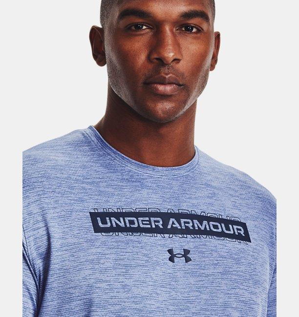 Mens UA Training Vent Graphic Short Sleeve