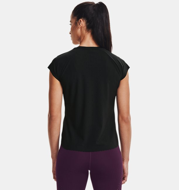 Womens UA RUSH™ Perf Short Sleeve